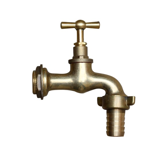 Brass Tap With Hose Attachment