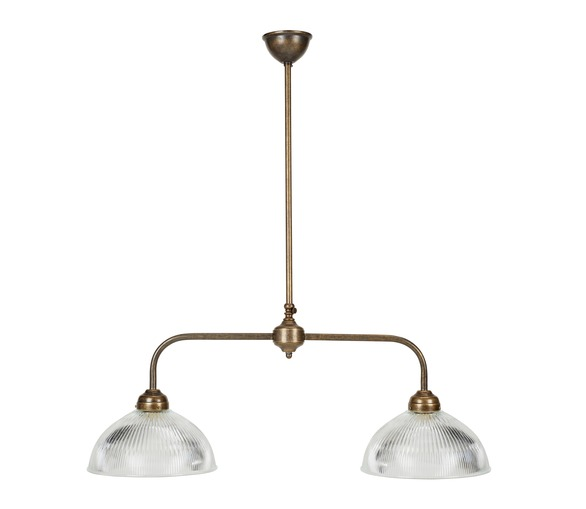 Double Billiard Lamp