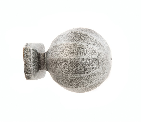 Door Knob Pewter Finish
