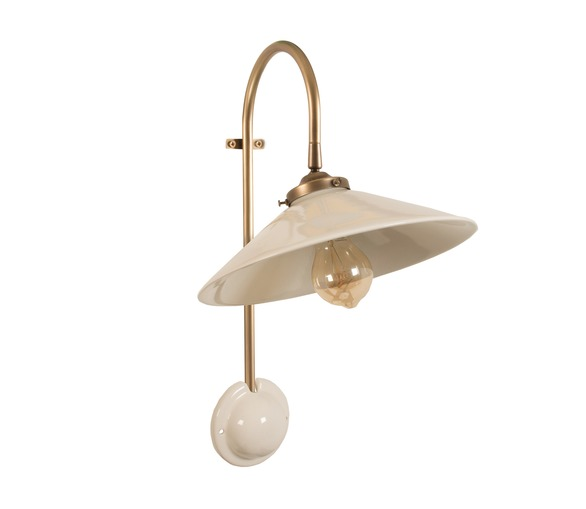 Ceramic Adjustable Wall Light