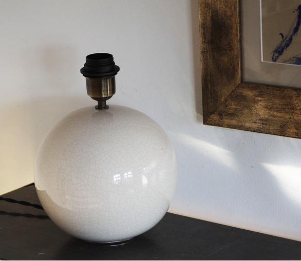 Chamonix, ceramic table lamp, large