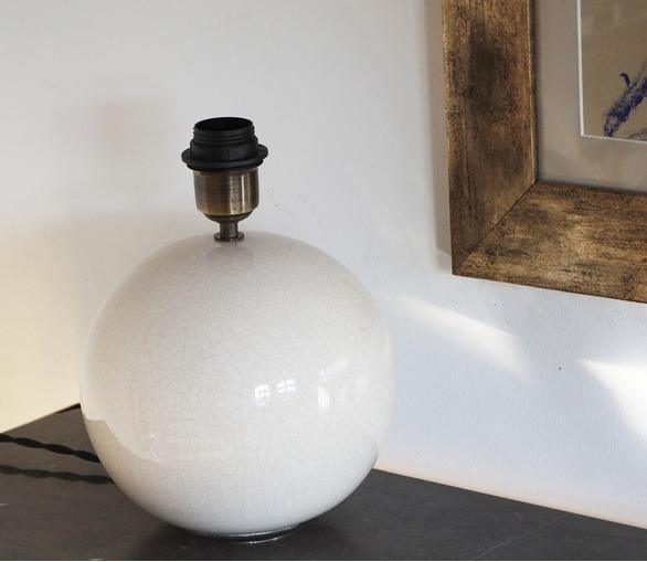 Lampe De Table Céramique - Chamonix