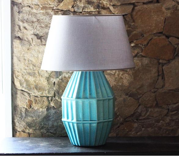 Big D-Light, ceramic table lamp
