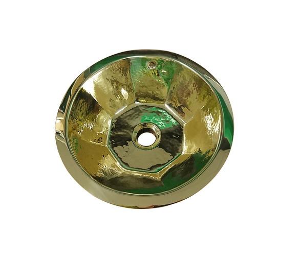 Brass Sink, octagonal