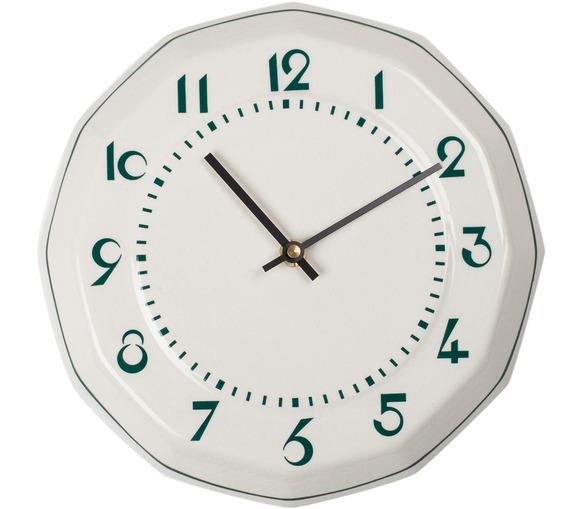 Horloge Hexagonal - Café du Midi