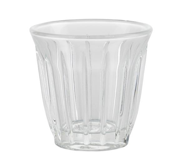 Tasse Transparente en Verre - Zinc