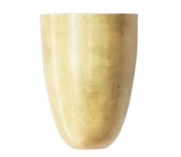 Unpolished Brass Uplighter
